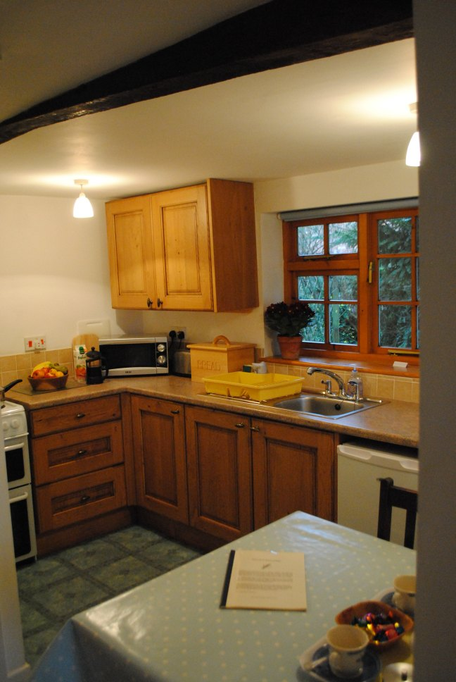 Kitchen of Stable Cottage self-catering accommodation
