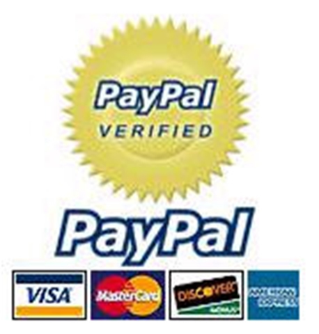 Pay online via PayPal